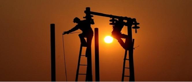 Alguns riscos da profissão do eletricista