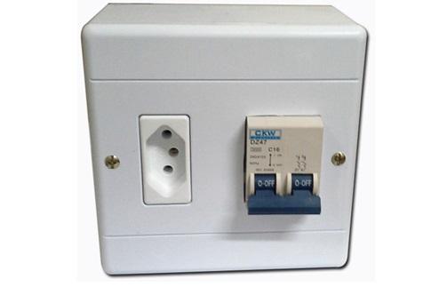 Modelo de Caixa para Ar-condicionado