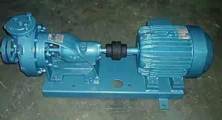Motobomba trifásica - chave de nível inferior e superior