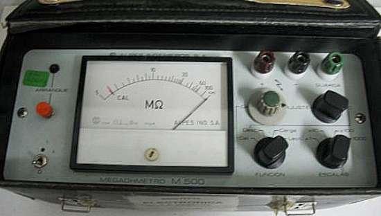 megômetro