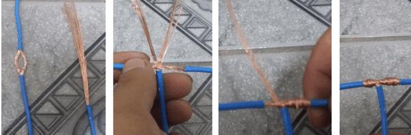 Técnicas para emendas em instalações eletrica residencial