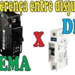 Diferença entre os disjuntores DIN e NEMA