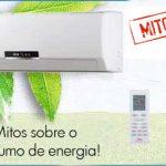Ar condicionado aumenta muito o consumo de energia eletrica?