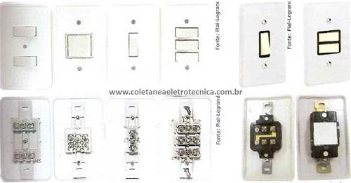 instalação com interruptores paralelos e intermediários
