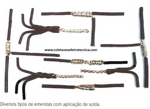 conheça os tipos de emendas de fios com condutores elétricos rigidos