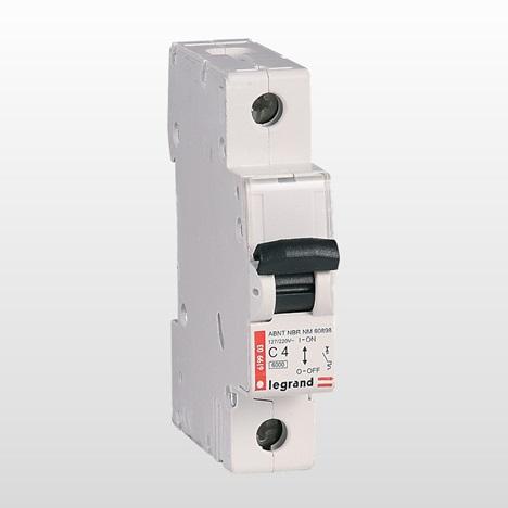 Exemplo de Disjuntor Unipolar para ar-condicionado