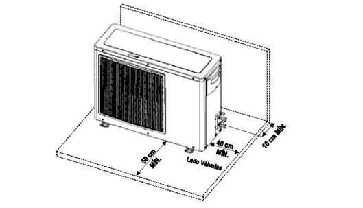 instalação de condensadora