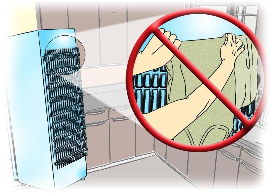 outra dica para economizar energia é escolher o local para geladeira e freezer