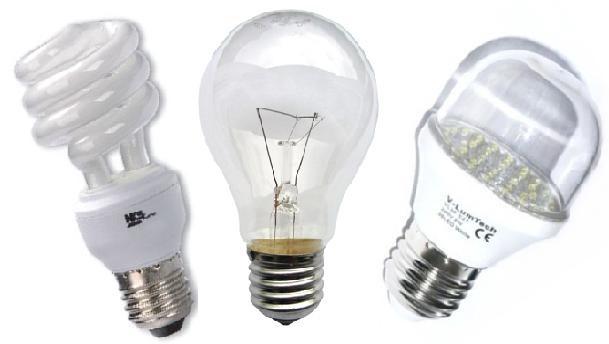 Prefira as lâmpadas mais econômicas
