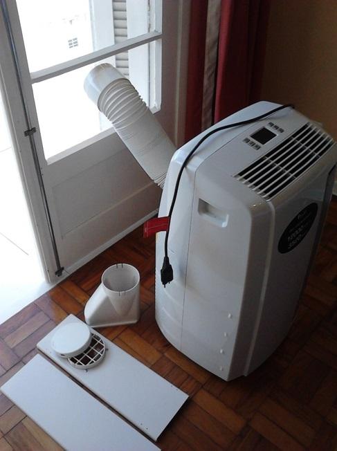 Custo de instalação do Ar-condicionado portátil é zero