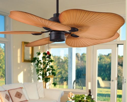 ventilador de teto moderno
