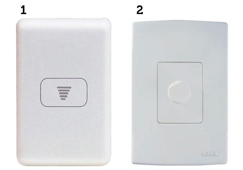 interruptor dimmer modelos